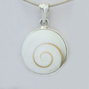 Stone: Nautilus (Shiva Shell) (Pendant)