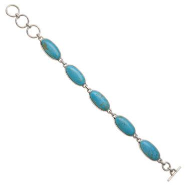 Stone: Turquoise-Kingman AZ (Bracelet)