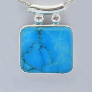 Stone: Turquoise-Tibetan (Pendant)