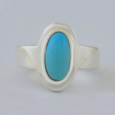 Stone: Turquoise-Kingman AZ (Ring)
