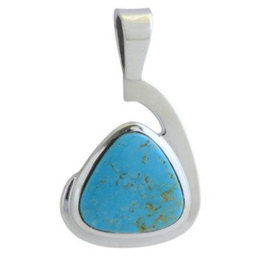 Stone: Turquoise-Kingman AZ (Pendant)