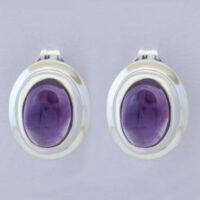Stone: Amethyst (Earring)