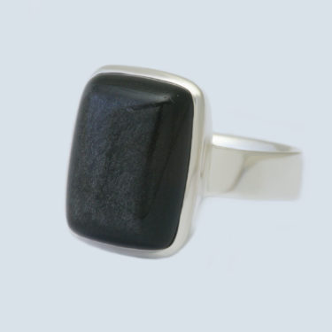Stone: Obsidian-Rainbow (Ring)
