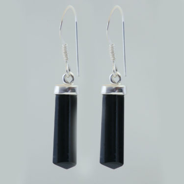 Stone: Tourmaline-Black (Earring)