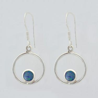 Stone: Opal-Doublet (Earring)