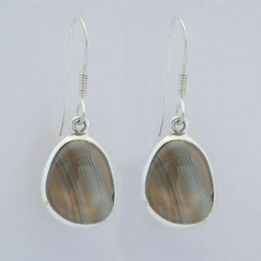 Stone: Florite-Rainbow (Earring)