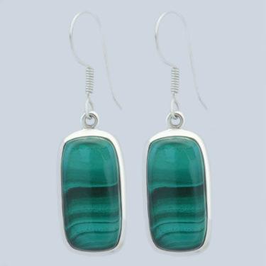 Stone: Malachite (Earring)