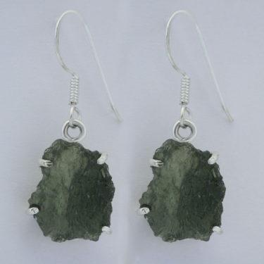 Stone: Moldavite (Earring)