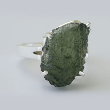 Stone: Moldavite (Ring)