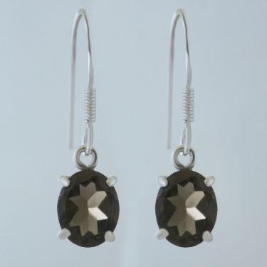 Stone: Quartz-Smoky (Earring)